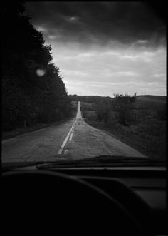 From 20x200 by Bert Teunissen - Overwhelmingly ominous but there's something courageous about driving headfirst into a storm.