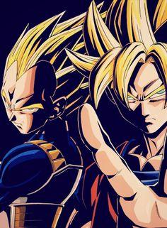 Land of cool_SSJ Vegeta & Goku