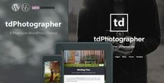 tdPhotographer - WordPress Theme - Personal Blog / Magazine