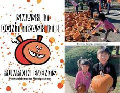 Read what a pumpkin smash is! Ways To Recycle, Reuse, Biggest Pumpkin, Good Cause, Halloween Season, Nature Crafts, Halloween Pumpkins, Mom And Dad, Entertaining