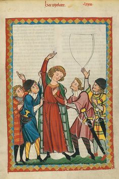 Manesse Codex, Herr Zitharr