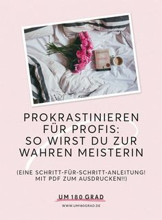 Prokrastinieren für Fortgeschrittene: So wirst Du zur wahren Meisterin via @um180grad Evernote, Online Marketing, Social Media Marketing, Online Business, Studying, Organisation, Deutsch, Self Motivation, Study