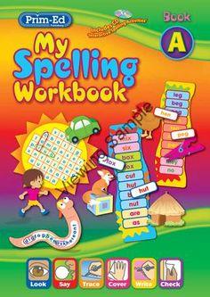 2280 My Spelling Workbook A