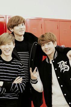 EXO NEXT DOOR - CHANYEOL, BAEKHYUN, SUHO #exo