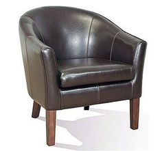 Barrel Club Chair -- THE perfect chair for any mancave. | cort.com