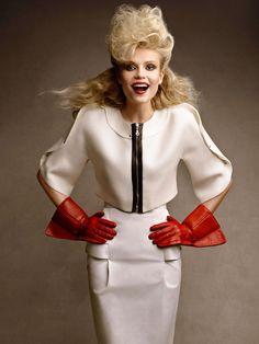 ☆ Natasha Poly | Photography by Patrick & Victor Demarchelier | For Vogue Magazine US | April 2009 ☆ #Natasha_Poly #Patrick_Demarchelier #Victor_Demarchelier #Vogue #2009