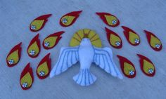 Under Her Starry Mantle: Religious Felt Dolls for the Atrium- Pentecost