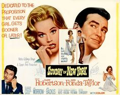Sunday In New York (1964)