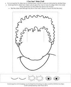 Image result for jesus healing blind man kids