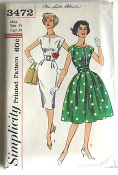 our mom was a seamstress and home ec teacher... these were a staple in our home!