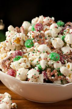 15 Easy Holiday Treat Ideas | Christmas Crunch is an easy and festive Christmas treat that is perfect for holiday gift giving.