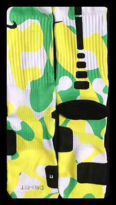 Authentic Nike Elite Socks Custom Camo Editions by TheSickestSocks