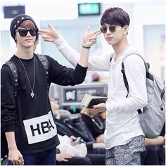 Another JinMark moment! Favorite couple out of GOT7!!!