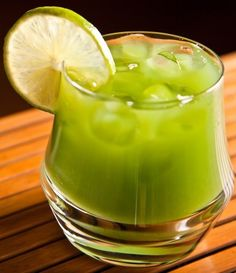 For those new to green smoothies and for children, kale lemonade is a wonderfully healthy drink that tastes very good!