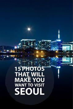 15 Stunning Photos of Seoul!