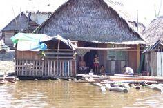 Peru, floating city.