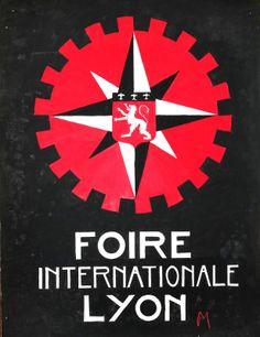 Affiche Foire de Lyon 1940