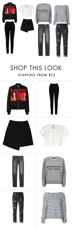 """""""😅"""" by horanswifey ❤ liked on Polyvore featuring Givenchy, EAST, MARC CAIN, Neil Barrett, AG Adriano Goldschmied, Burberry, STELLA McCARTNEY and Jacquemus"""
