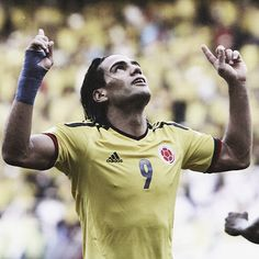 Radamel Falcao of Colombia--- el tigre wish I could've watched this brilliant soccer player represent Colombia this past cup Football Icon, World Football, Football Soccer, Most Popular Sports, You'll Never Walk Alone, Young Guns, Sport Inspiration, Man Up, Fifa World Cup
