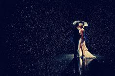 Cool wedding rain shot.. maybe before we leave reception if raining that evening?