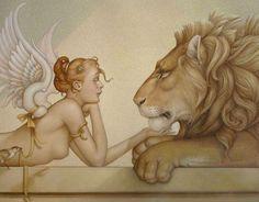 Artist Michael Parkes