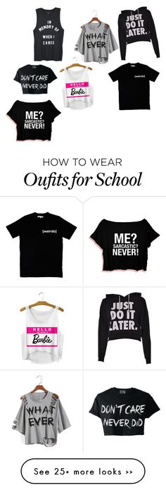 """""""School"""" by safehsrbourerica on Polyvore"""