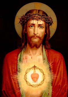 """I Thirst""  - In the Shadow of His Wings » Sacred Heart of Jesus"