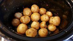 Vitlökspotatis i croque pot Crock Pot Slow Cooker, Slow Cooker Recipes, Easy Bake Oven, Recipe For Mom, Side Dishes, Good Food, Food And Drink, Dinner, Fruit
