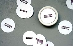 Maybe we get logo stickers for attendees? - j