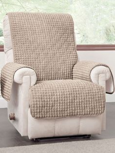 Puff Chair Protector (65-in. x 75½-in.) - It's easy to put on and take off the Puff Chair Protector.
