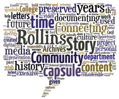 "Be a part of the Rollins Story. The Traditions Committee of Rollins Cares is launching a ""Living Time Capsule"" project intended to help document the amazing history of Rollins. This is a unique time in the College's history coming off our 125th anniversary celebration and moving into our 126th year and beyond.  From March 23-May 2nd all members of the Rollins community will be invited to participate in digital story booths that will capture thoughts, stories, and favorite Rollins…"
