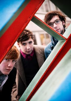 Two Door Cinema Club  Just watched them on later with jools holland, very good :)