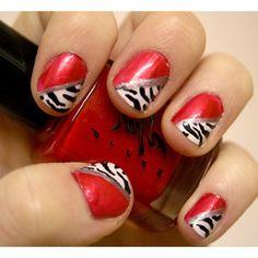 Gotta love cute nails :)