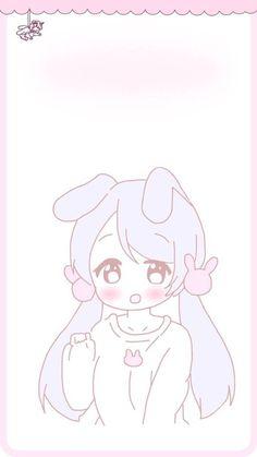 Cute kawaii anime wallpaper ♥ lolita Cute Anime Wallpaper, Soft Wallpaper, Cute Anime Chibi, Kawaii Anime, Cute Themes, Anime Expressions, Kawaii Art, Aesthetic Wallpapers, Pastel Art