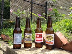 Beer bottle labels b