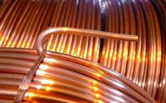 Copper futures ended lower in the domestic market on Tuesday ahead of key Chinese data on GDP, industrial production and retail sales, particularly key for copper from the world's top importer.