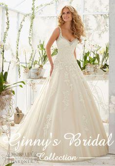 Mori Lee Bridal Wedding Dress 2811