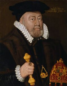 Sir Nicholas Bacon  by Unknown artist oil on panel, 1579 24 3/4 in. x 19 1/4 in. (629 mm x 491 mm)