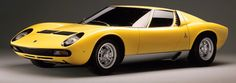 http://chicerman.com  carsthatnevermadeit:  Lamborghini Miura 1966 (SV pictured). The Miura designed by Marcello Gandini at Bertone was the first mid-engined production to have a transversally mounted engine.The Miura was originally conceived by Lamborghinis engineering team who worked on the car in their spare time against the wishes of company founder Ferruccio Lamborghini  #cars