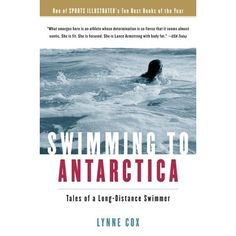 Swimming to Antarctica is one awe inspiring book.  Although it's about open water swimming, the writing is very conversational and easy to read.  Lynne Cox is just amazing; she's brave and determined and yet vulnerable.  Try it, I think you'll really like it, even if you don't want to slather up in lanolin and swim the English Channel.