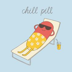 Funny Pun: Chill Pin - Punny Humor - design on @TeePublic!