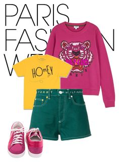 Designer Clothes, Shoes & Bags for Women Kenzo, Tommy Hilfiger, Chanel, Polyvore, Stuff To Buy, Shopping, Collection, Design, Women