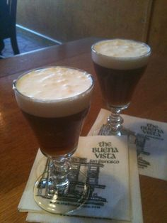 Irish Coffees at the Buena Vista, San Francisco, CA