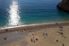 Kaputas Beach between Kalkan and Kas - Lykische Küste - Türkei