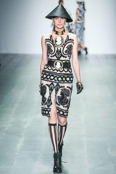 KTZ #Spring2015 #RTW #womenswear #LondonFW #fashion #runway Style.com