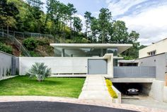 Guaparo House by NMD Nomadas | HomeAdore.  Contemporary concrete house in