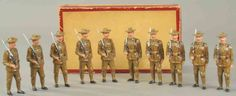 toys pfeiffer mass figure composition soldiers us infanty, Historytoy  Picture from: www.bertoiaauctions.com