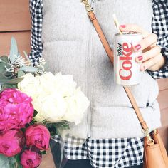 Friday flower run & a little @dietcoke treat  ps- if you're a Diet Coke fan you may want to stop by Waterfront Park in Alexandria VA this Sunday for a big surprise! #RetweetsOfLove #ad by caitlinkruse