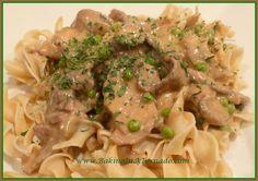 Crockpot Mushroom Beef | www.BakingInATornado.com | #recipe #crockpot