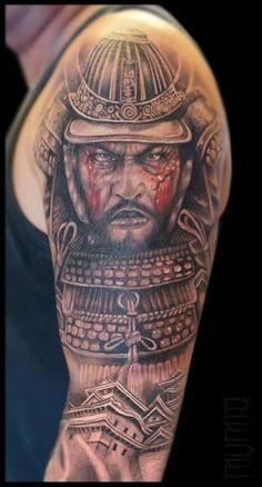 1c74f5c5f 60 Samurai Tattoos | รอยสัก | Samurai warrior tattoo, Samurai tattoo ...
